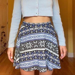 LA Hearts Skater Skirt